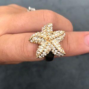 Jcrew starfish ring
